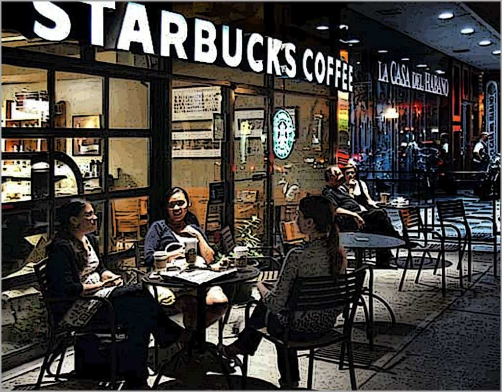 Starbucks real product is a sense of community.