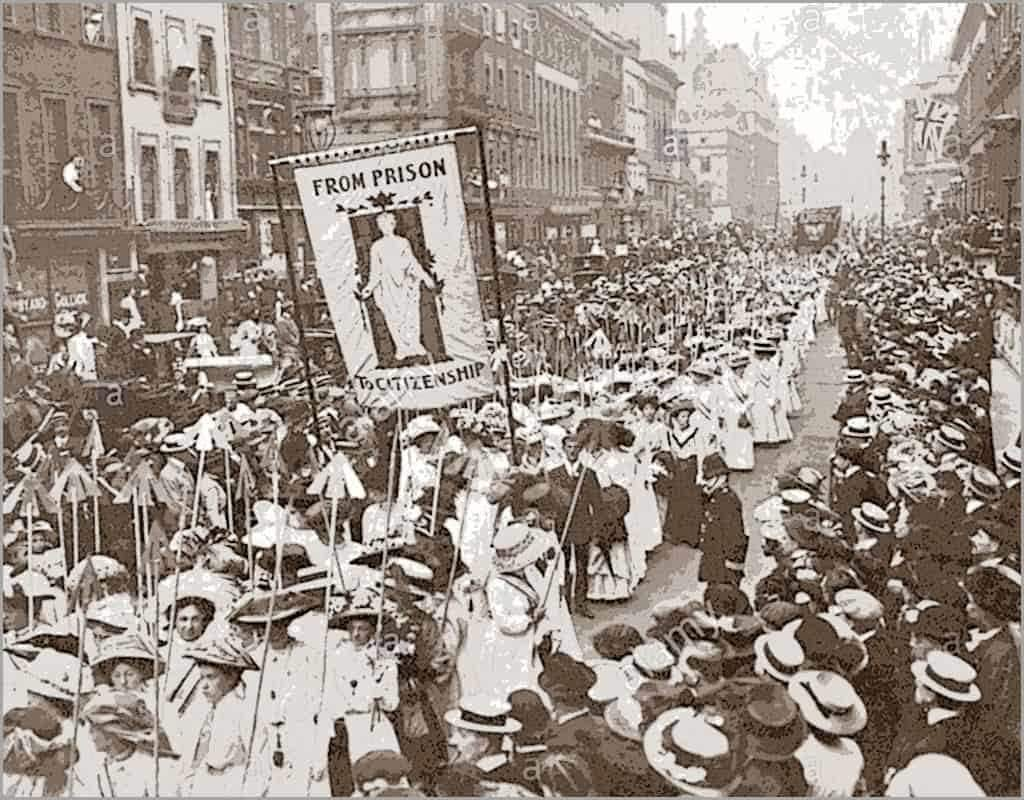 Will a woman's right to vote ultimately lead to socialism?