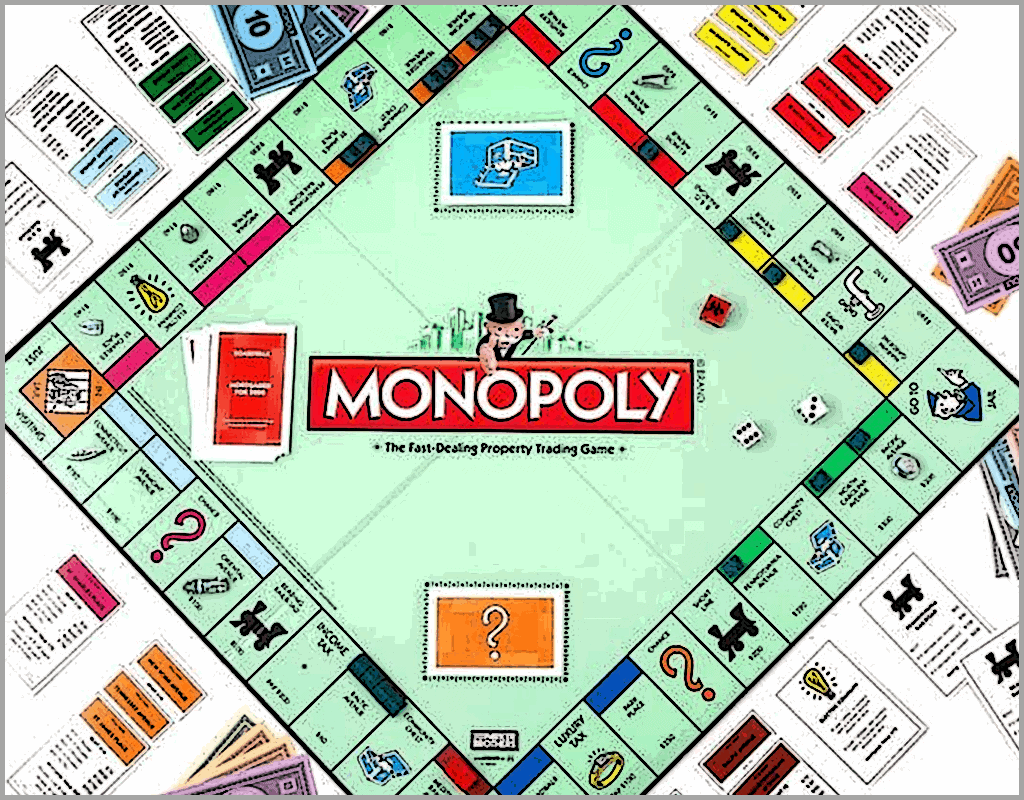 Monopoly was originally intended as an educational tool to illustrate the negative aspects of monopolies.