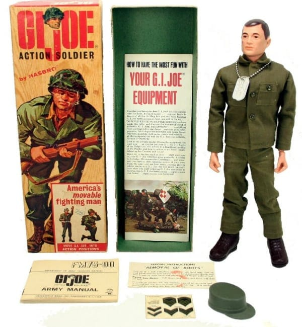 The appeal of GI Joe was strong for young boys who could imagine combat, adventure, and an idealized vision of masculinity.