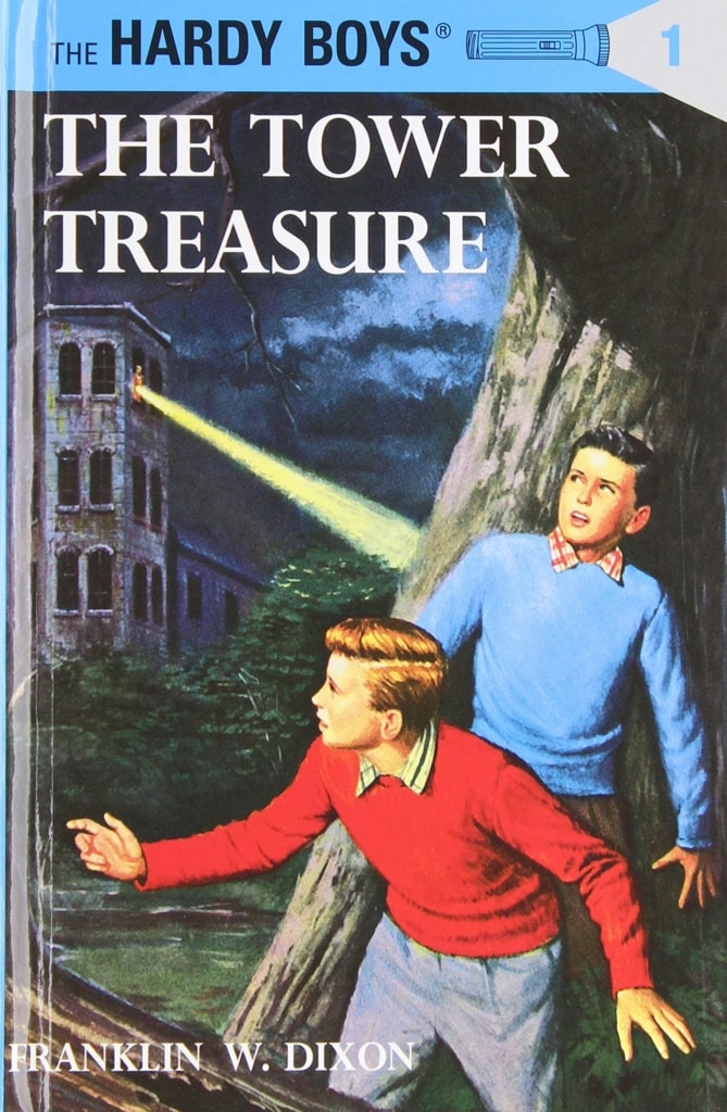 Reading Hardy Boys novels gave me an appreciation for reading that stays with me to this day.