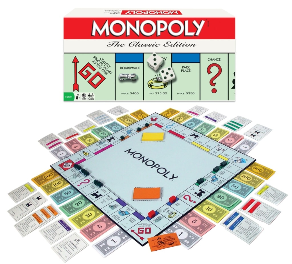 To this day, I think Monopoly is a great learning tool for adolescences.
