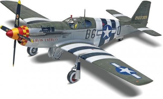 P-51 Mustang, Building models teach you a lot about the nature of machinery.